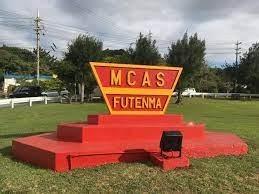 Marine Corps Air Station Futenma sign