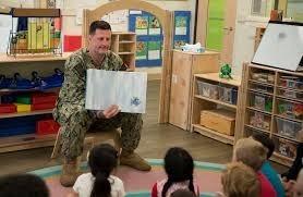 Child Development Center II NSA Bethesda story telling