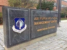 Hanscom Air Force Base-sign