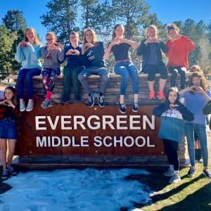 Evergreen Middle School Students in Everett, Washington