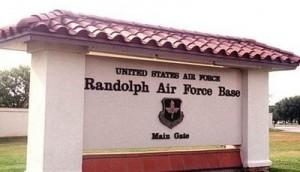 Randolph Air Force Base Sign