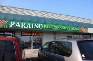 Paraiso Native Filipino Restaurant in Tacoma, Washington State