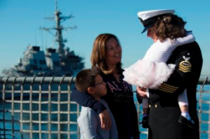 Deployment Readiness support for Sailors and their families