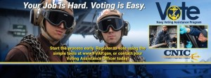 Navy Voting in Pensacola, Florida