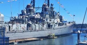 USS Turner Joy Ship Museum in Bremerton, Washington