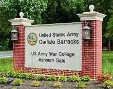 carlisle barracks- sign