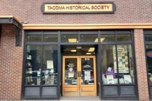 Tacoma Historical Society Front Door in Washington State