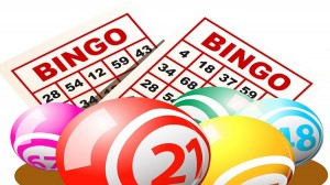 Bingo Card and Billiard Ball in Texas, Fort Hood