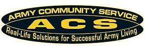 ACS Logo in Texas, Fort Hood
