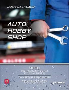 Auto Hobby Shop Operation Hours Flyer in Texas, San Antonio