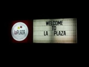 Welcome Sign in Rota, Spain