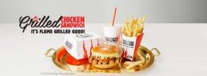 Burger King Meal in Eielson, Alaska