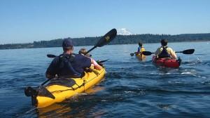 Kayak Adventure in Tacoma, Washington State