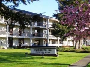Evergreen Inn in Tacoma, Washington State