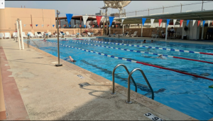 Outdoor Pool in Manama, Bahrain