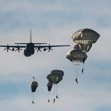 Official Army Parachute Jump