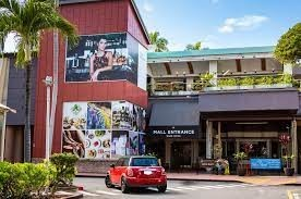 Ward Village Shops-red car