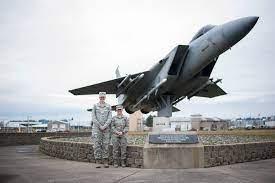 Camp Rilea Air National Guard-jet