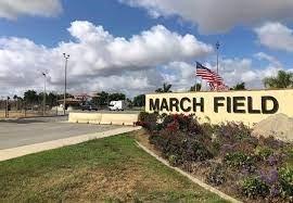 march air reserve base- entrance
