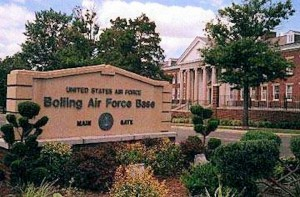 Bolling AFB- sign