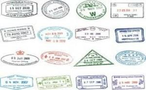 Travel Stamps in Atsugi, Japan