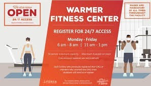 Opening Hours of Warmer Fitness in Illinois, Scott AFB
