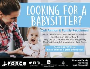 ellsworth air base babysitter- 1