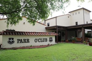 Parr Club Sign in Universal, Texas