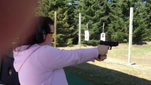 Pistol Range in Tacoma, Washington State