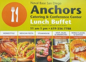 Anchors catering services