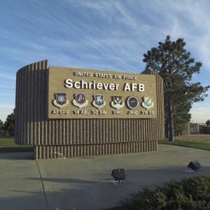 Schriever Air Force Base-sign
