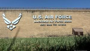 Joint Base San Antonio-Lackland Sign