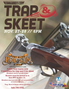 Trap and Skeet Schedule in El Paso, Texas