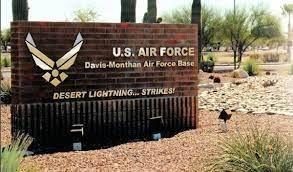 davis-monthan air force base-sign