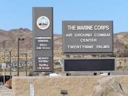 Twentynine Palms- sign