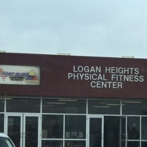 Logan Heights Physical Fitness Building in El Paso, Texas