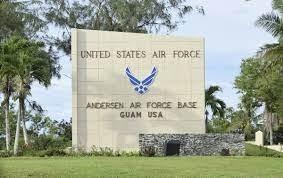 ANDERSEN AIR FORCE BASE GUAM-sign