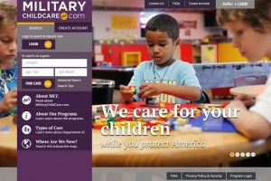 military child care