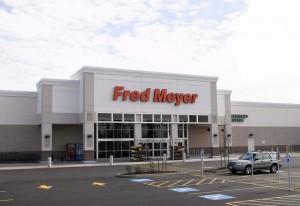 Fred Meyer Shopping Mall in Bremerton,Washington