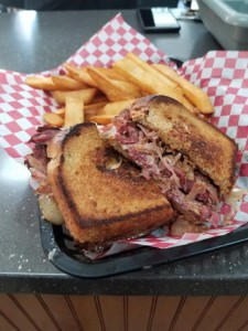 Cornbeef Sandwich in Silverdale, Washington