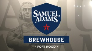 Samuel Adams Logo in Texas, Fort Hood