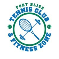 Tennis Club and Fitness Zone Logo in El Paso, Texas