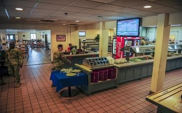 D-PAD MILITARY DINING FACILITY - Kunsan