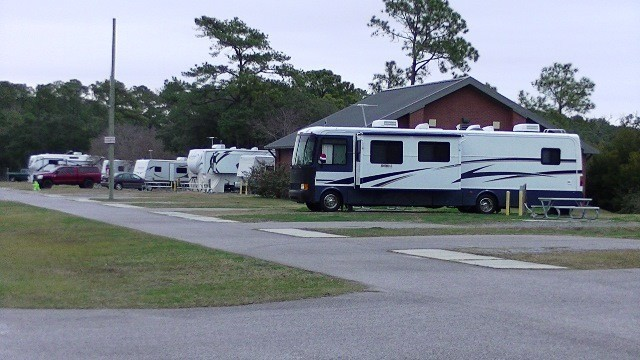 RV Campgrounds and Park - MCRD Parris Island