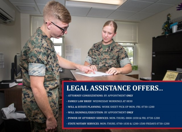 MCAS Cherry Point Legal Services Support Team