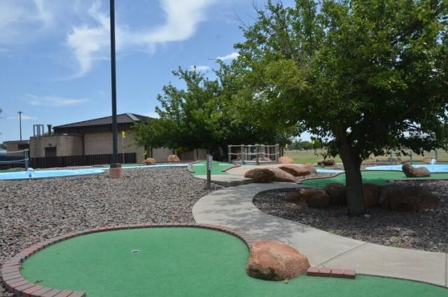 Altus AFB - Miniature Golf Course
