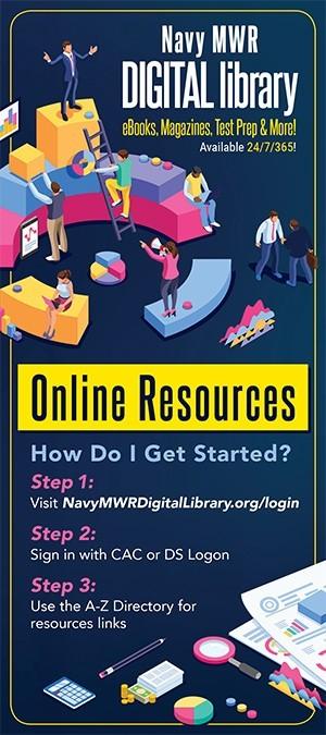 Navy MWR Digital Library- NSA Saratoga Springs