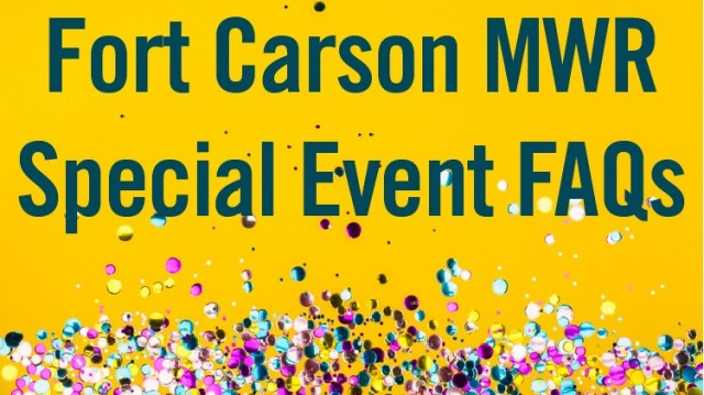Special Events  - Fort Carson