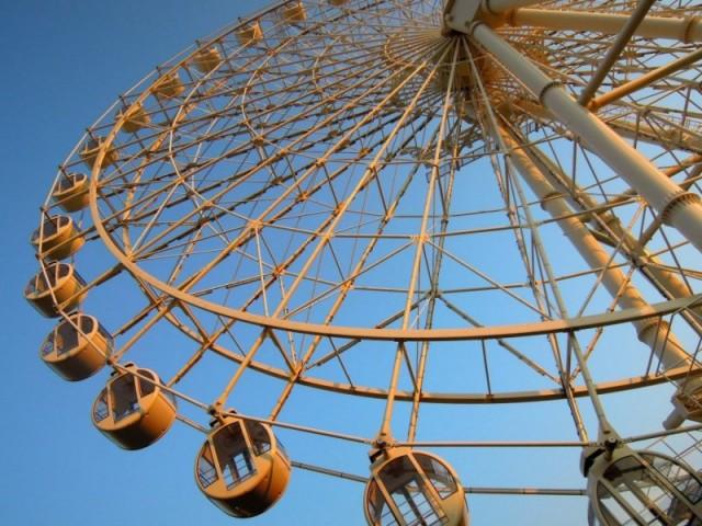 White Ferris Wheel!