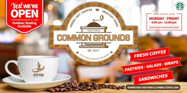 Common Grounds Coffee Shop - Scott Air Force Base